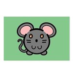 Gray Mousie Postcards (Package of 8)
