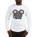 Gray Mousie Long Sleeve T-Shirt