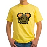 Gray Mousie Yellow T-Shirt