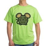 Gray Mousie Green T-Shirt