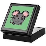 Gray Mousie Keepsake Box