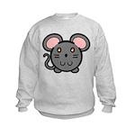 Gray Mousie Kids Sweatshirt