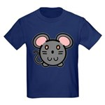 Gray Mousie Kids Dark T-Shirt