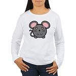 Gray Mousie Women's Long Sleeve T-Shirt