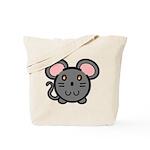 Gray Mousie Tote Bag