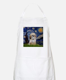 Starry Night & Shih Tzu BBQ Apron