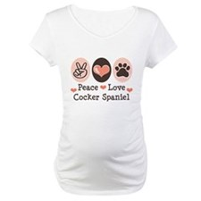 Peace Love Cocker Spaniel Shirt