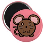 Brown Mousie Magnet