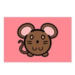 Brown Mousie Postcards (Package of 8)