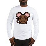 Brown Mousie Long Sleeve T-Shirt