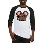 Brown Mousie Baseball Jersey