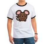 Brown Mousie Ringer T