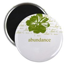 "abundance 2.25"" Magnet (10 pack)"
