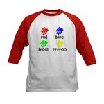 Colors for Smart Babies Kids Baseball Jersey