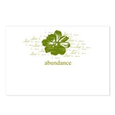 abundance Postcards (Package of 8)