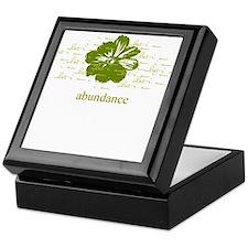 abundance Keepsake Box