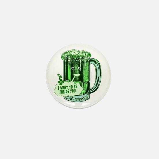 Hilarious St Patricks Day Mini Button