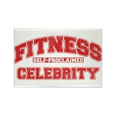 Fitness Celebrity Rectangle Magnet