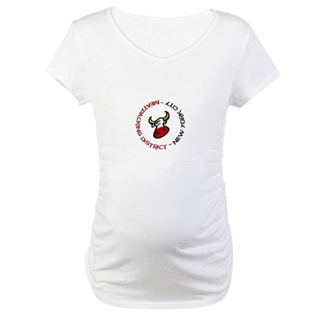 Meatpacking District NYC Maternity T-Shirt