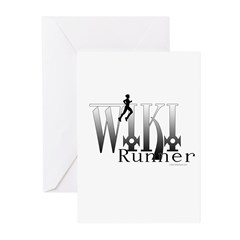 WIKI RUNNER Greeting Cards (Pk of 10)