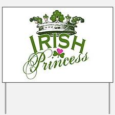 Irish Princess Yard Sign