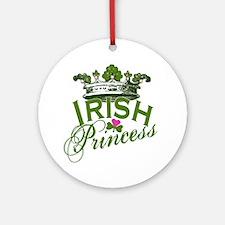 Irish Princess Ornament (Round)