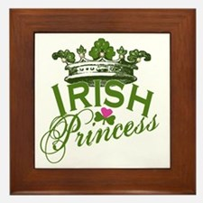 Irish Princess Framed Tile