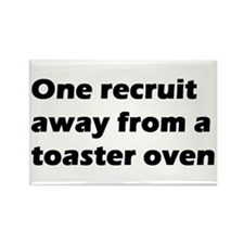 Toaster Oven Rectangle Magnet