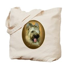Briard Medallion Tote Bag
