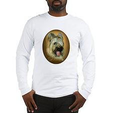 Briard Medallion Long Sleeve T-Shirt