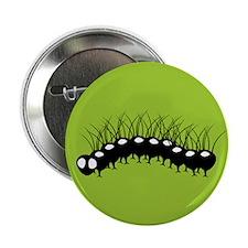 "Black Caterpillar 2.25"" Button"