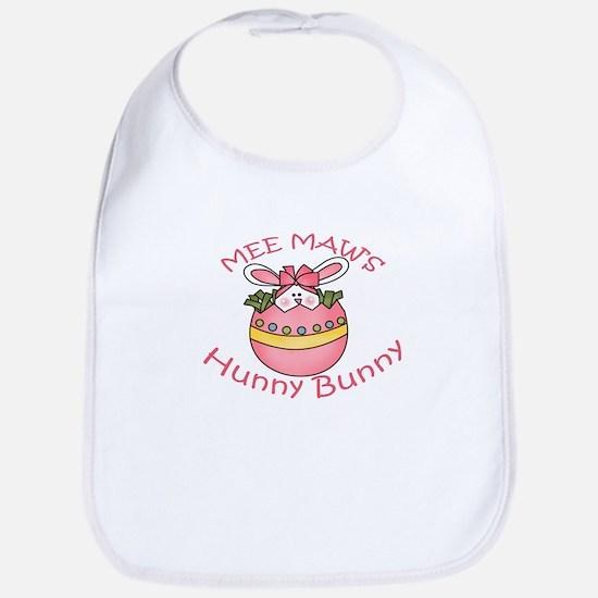 MeeMaw's Hunny Bunny GIRL Bib