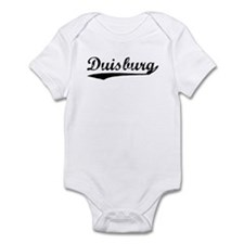 Vintage Duisburg (Black) Infant Bodysuit