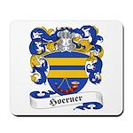 Hoerner Family Crest Mousepad