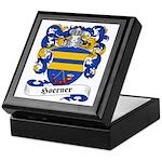 Hoerner Family Crest Keepsake Box