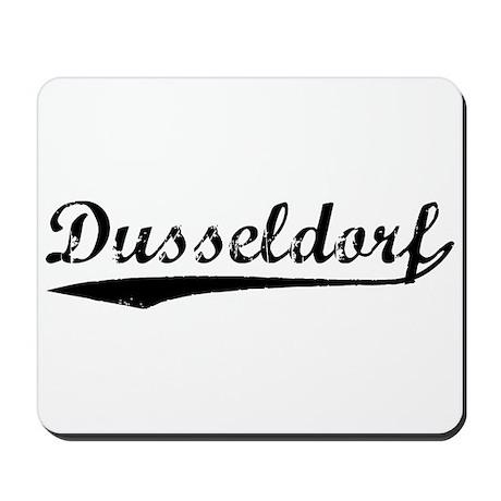 Vintage Dusseldorf (Black) Mousepad