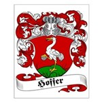 Hoffer Family Crest Small Poster
