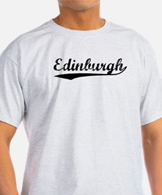 Vintage Edinburgh (Black) T-Shirt