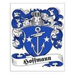 Hoffmann Family Crest Small Poster