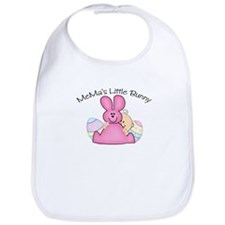 MeMa's Little Bunny GIRL Bib