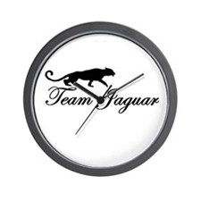 Team Jaguar Wall Clock
