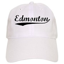 Vintage Edmonton (Black) Baseball Cap
