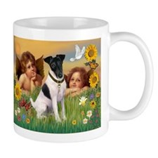 Angels with Smooth Fox Terrier Mug
