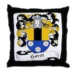 Horst Family Crest Throw Pillow