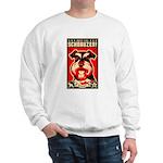 Obey the Schnauzer! Propaganda Sweatshirt