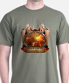 Nude whitetail hunting design T-Shirt
