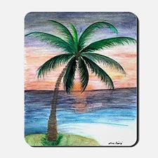 Sunset Palm Mousepad