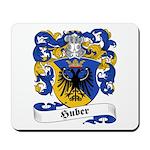 Huber Family Crest Mousepad