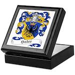 Huber Family Crest Keepsake Box