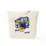 Huber Family Crest Tote Bag